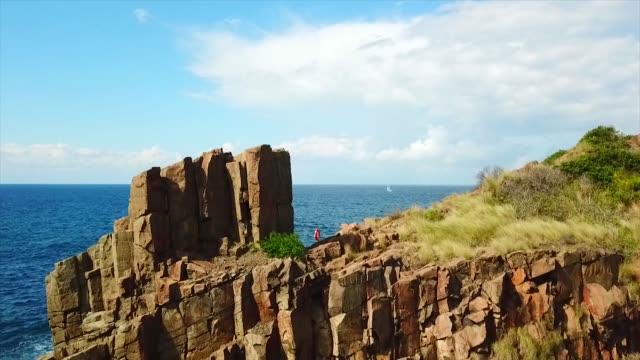 Ancient quarry on Bombo Headlands