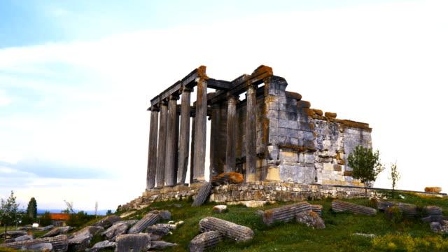 forntida tempel aizanoi - fornhistorisk tid bildbanksvideor och videomaterial från bakom kulisserna