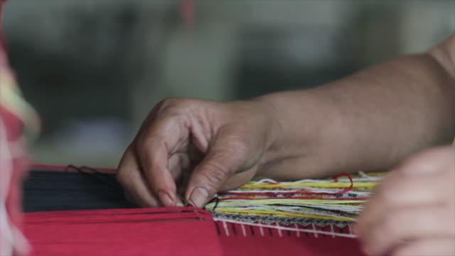 ancient thai woven cloth video