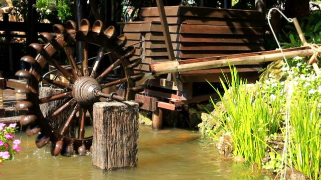 Ancient  Waterwheel video