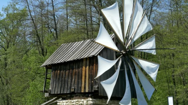 Ancient Windmill video