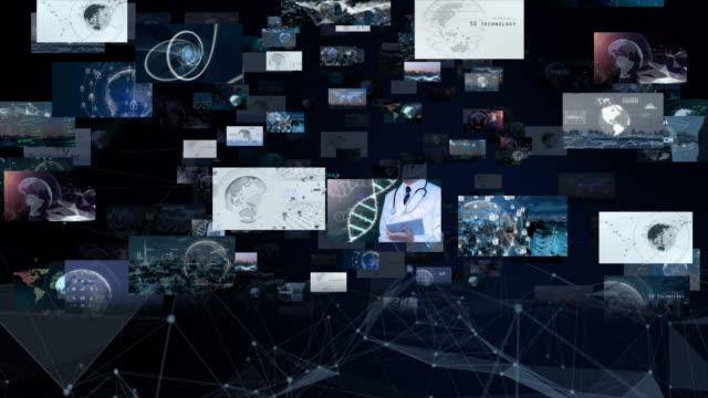 5gとai技術、グローバル通信ネットワークのコンセプト - ai点の映像素材/bロール