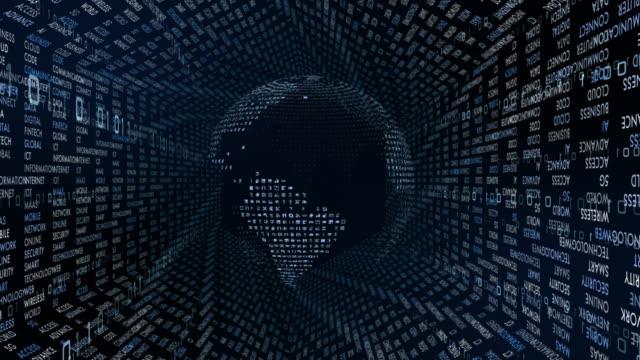 vídeos de stock e filmes b-roll de 5g and ai technology, global communication network concept. - génio conceito