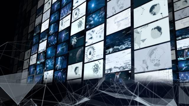 5gとai技術、グローバル通信ネットワークコンセプト。 - サービス点の映像素材/bロール