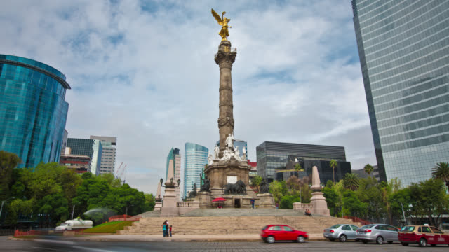 Angel of Independence Mexico City video