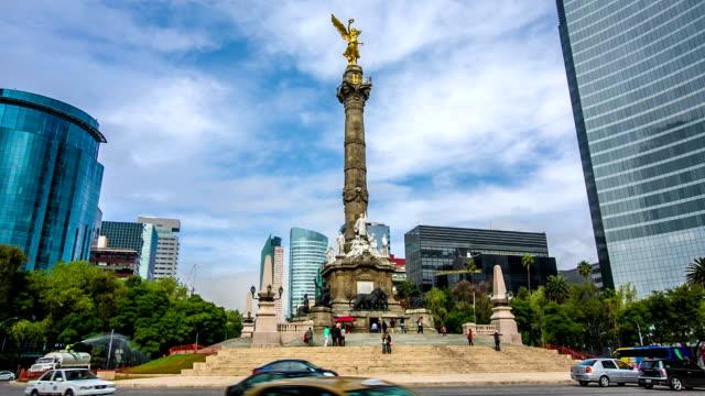 El Ángel de la independencia de la ciudad de México - vídeo