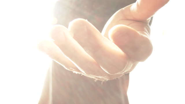 angelic being reaching out hand - god stock videos & royalty-free footage