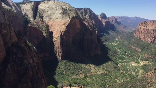 Angels Landing views in Zion National Park video