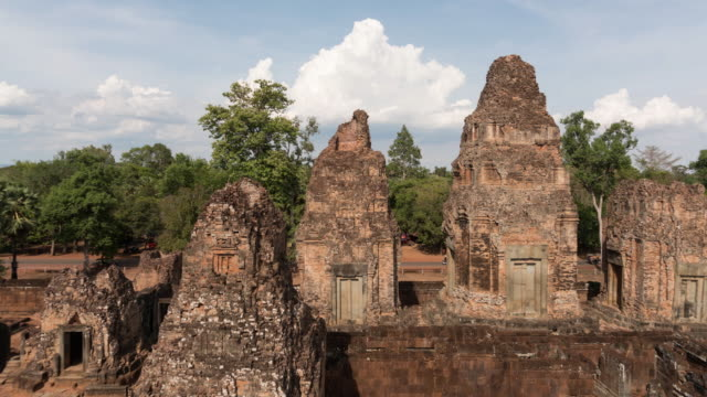 angkor in siem reap, cambodia. - 2016 video stock e b–roll
