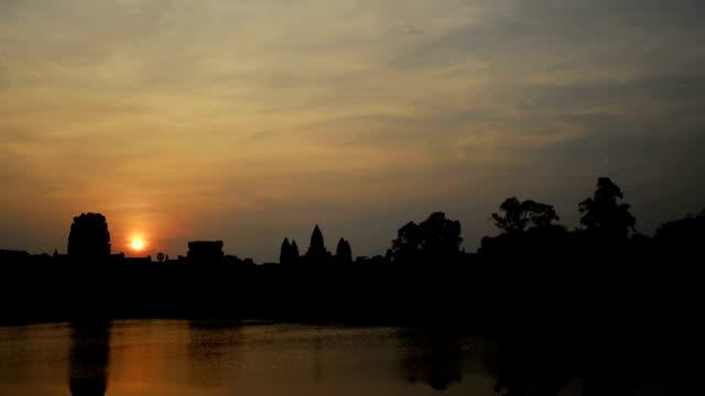 Angkor Wat Sunrise Time Lapse (1080 HD) video