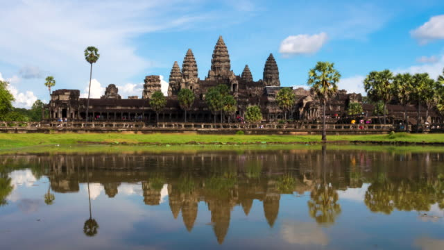 angkor wat - wat video stock e b–roll