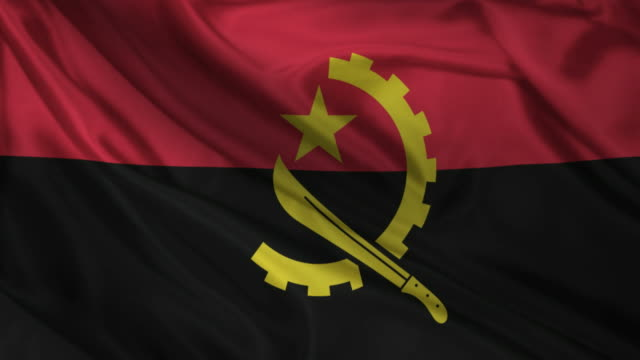 Angola country flag video