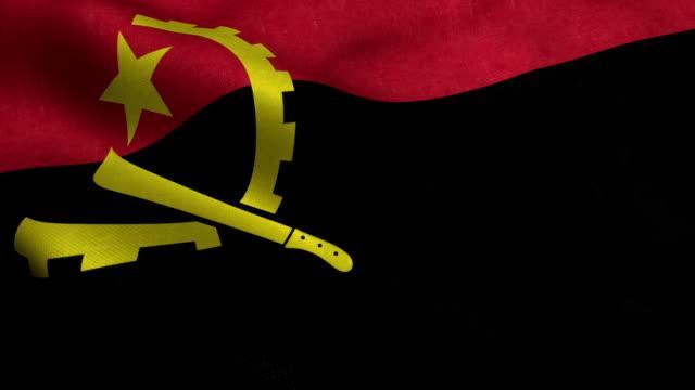 Angola Flag video