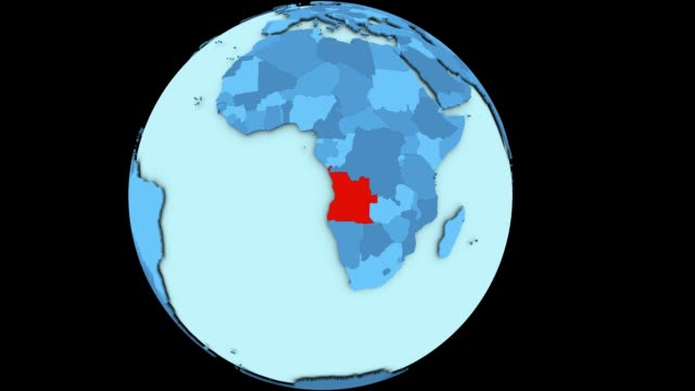 Angola on blue planet video