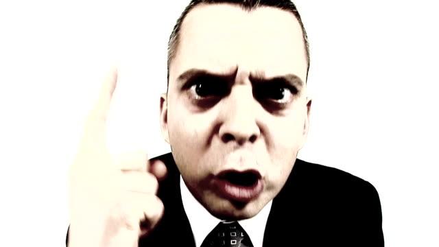 HD LOOP: Angry Businessman video