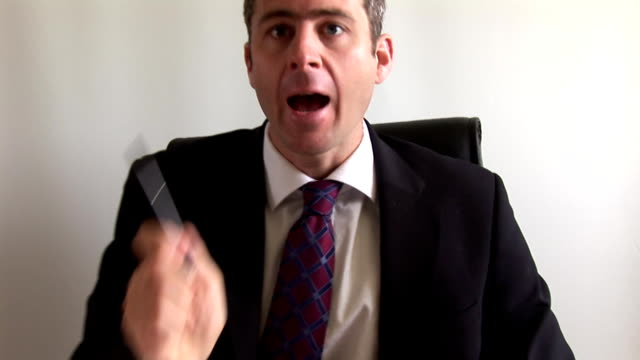 Angry Businessman video