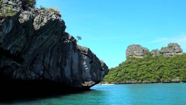 アーントーン諸島、島サムイ島、スラタニ、タイ - サムイ島点の映像素材/bロール