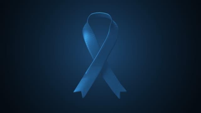 옆에서 움직이는 파란색 리본 - ribbon 스톡 비디오 및 b-롤 화면