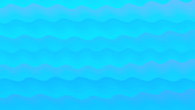 Animated Cartoon Wave background digitally generated video cartoon stock videos & royalty-free footage