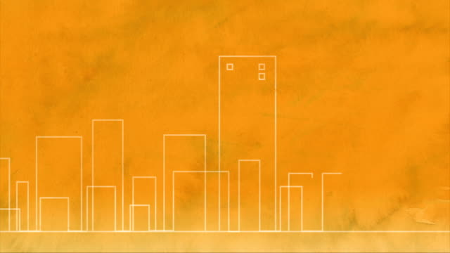 Animated Cityscape video