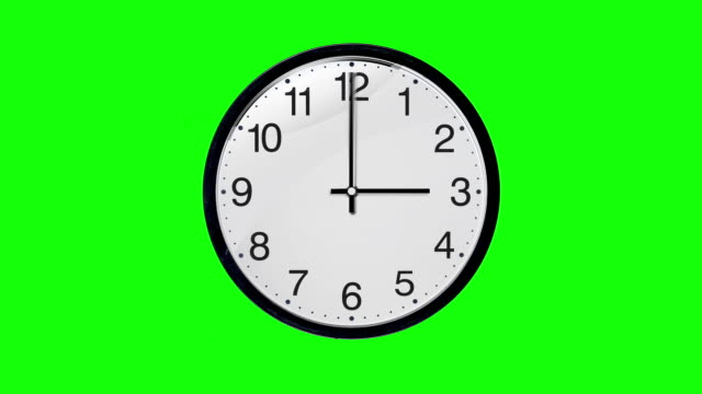 Animated clock Looped. Time lapse. Alpha Layer Included. Animated clock Looped. Time lapse. Alpha Layer Included. wall clock stock videos & royalty-free footage