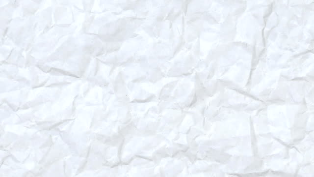 Animated Crinkled Paper Texture
