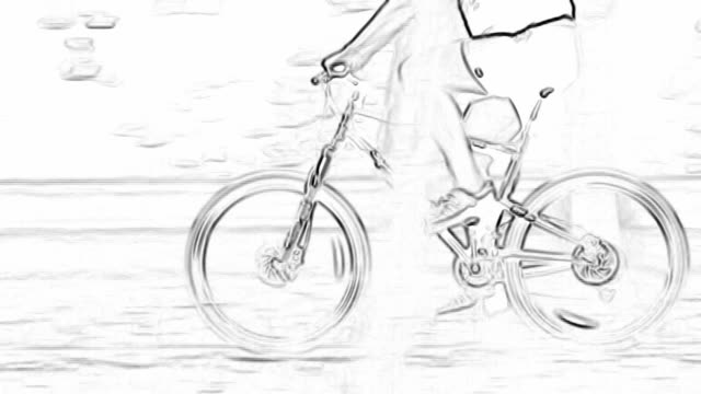 HD: Animated Cycling video