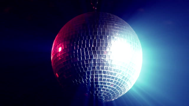 Animated Disco Ball video