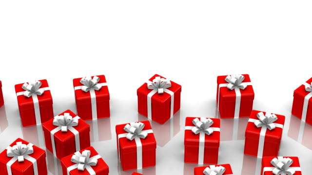vídeos y material grabado en eventos de stock de animados cajas de regalo - imagen en bucle