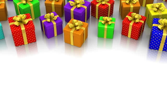 Animated Gift Boxes video
