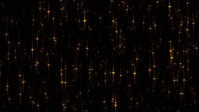 4k 動畫閃閃發光的黑色背景 - gold texture 個影片檔及 b 捲影像