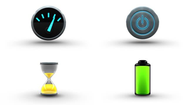 Animated Icon Set 6 video