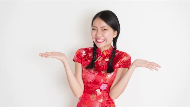 Animated image of Asian woman video