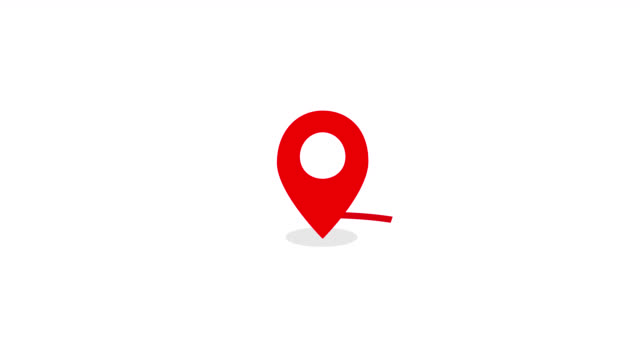 Animated location icon