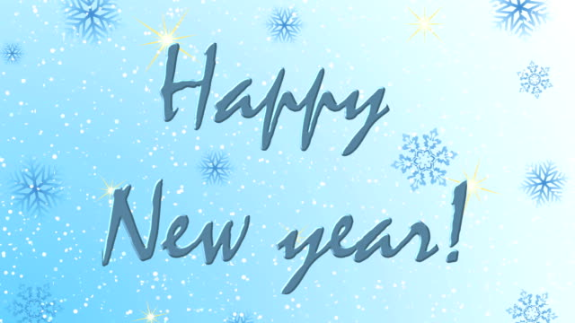 animated new years beautiful screen saver video