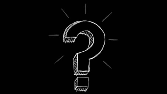 animated question mark, black chalk section, ideal for compositing, use as a mask, ideal footage to represent the idea concept animated question mark, black chalk section, ideal for compositing, use as a mask, ideal footage to represent the idea concept faq stock videos & royalty-free footage