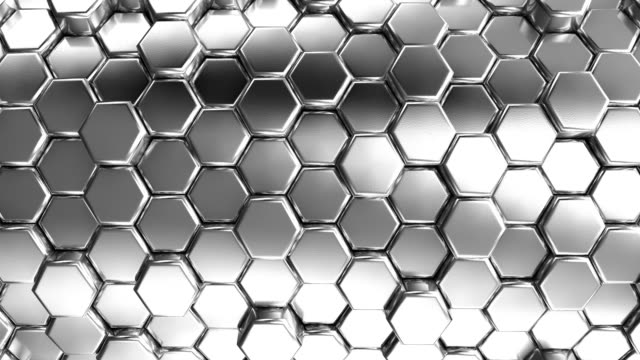 Animated Silver Honeycombs video