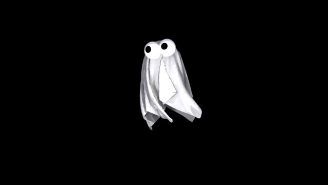3D Animated Spooky Halloween Ghost Flying 3D Animated Spooky Halloween Ghost Flying ghost stock videos & royalty-free footage