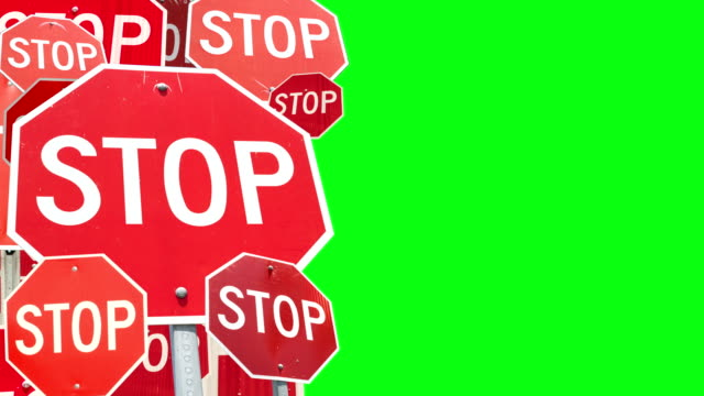 Animated Stop Signs video