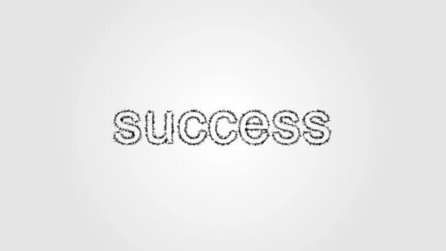 CG Animated Success Background - 4K Resolution