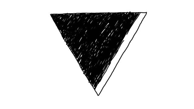 Animated Triangle Background video