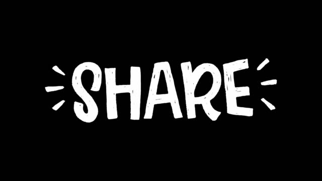 animierter weißer schrifttext aktiengezeichnete großbuchstaben - comic font stock-videos und b-roll-filmmaterial