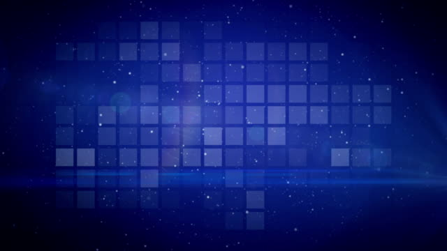 animation background blue video