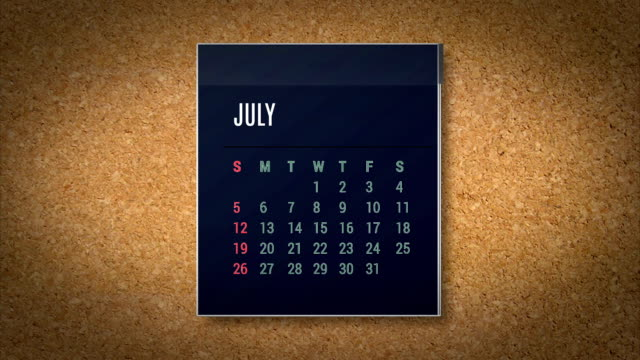 animation kalender fliegenden alpha-karte - 2015 stock-videos und b-roll-filmmaterial