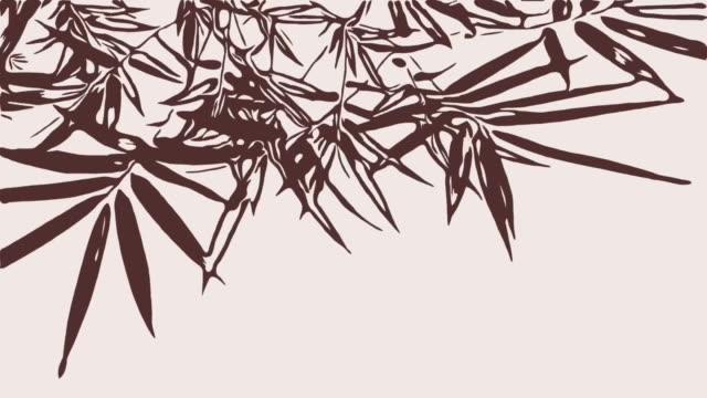 アニメ、タケ木は風と揺れ ビデオ
