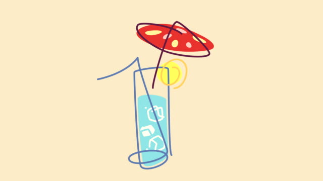 Animation Exotic Cocktail video
