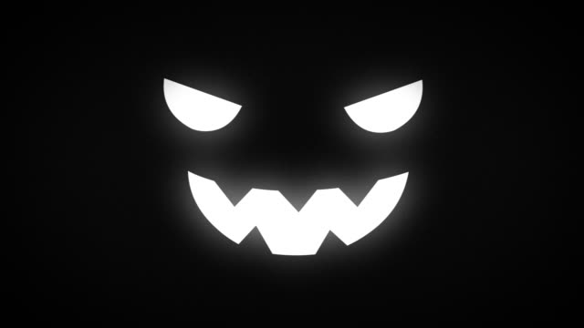 animation for the holiday halloween - halloween video stock e b–roll