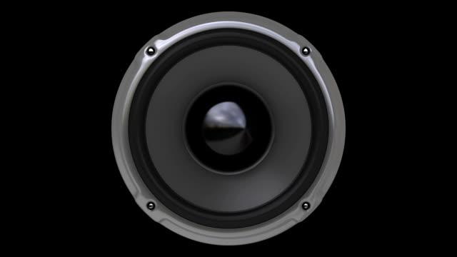 Animation Gray Speaker (HD, Loop/Cycle, Alpha) HD1080, Loop/Cycle, Alpha mask. Animation Speaker. speaker stock videos & royalty-free footage