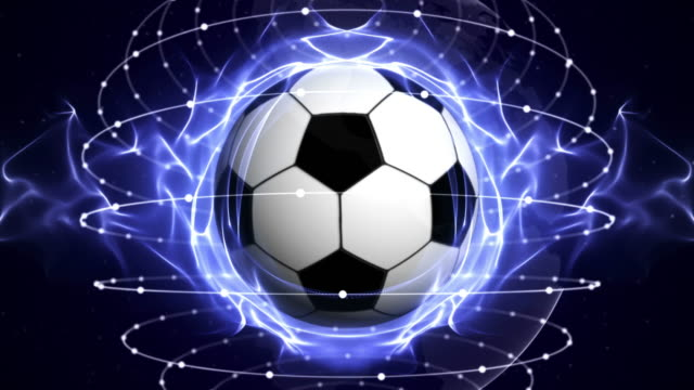 SOCCER BALL Animation, Loop video