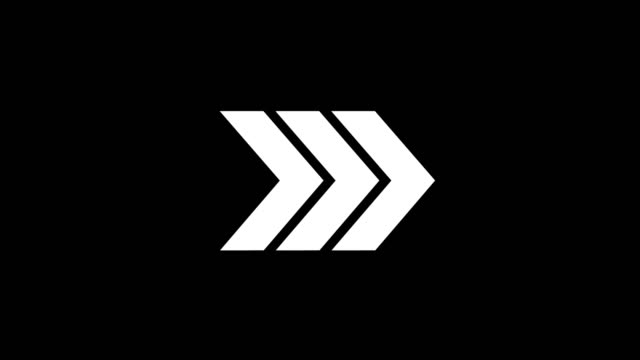 アニメーション - 現代矢印グリッチ背景 - 方向点の映像素材/bロール